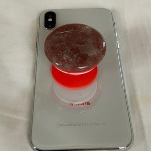 Natural Ruby Phone Grip